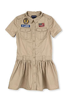 RALPH LAUREN Scout-style cotton dress 8-14 years