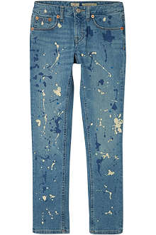 RALPH LAUREN Paint splash boyfriend jeans 7-16 years