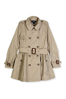 RALPH LAUREN Classic trench coat 8-16 years