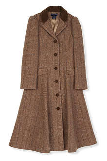 RALPH LAUREN Tweed princess coat 8-16 years