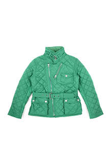 RALPH LAUREN Quilted moto jacket