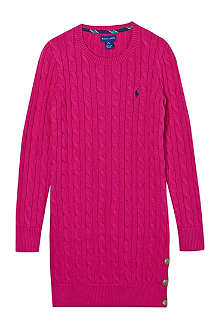 RALPH LAUREN Ls cotton dress