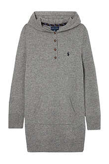 RALPH LAUREN Hooded tunic S-XL