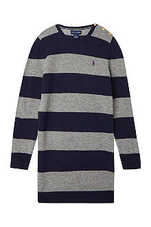 RALPH LAUREN Preppy rugby dress S-XL