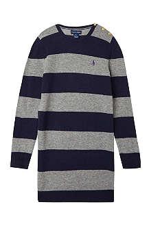 RALPH LAUREN Preppy rugby dress S-XL