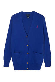 RALPH LAUREN Cotton boyfriend cardigan S-XL
