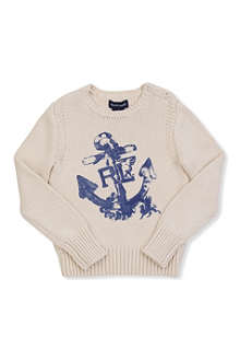 RALPH LAUREN Anchor jumper 7-16 years