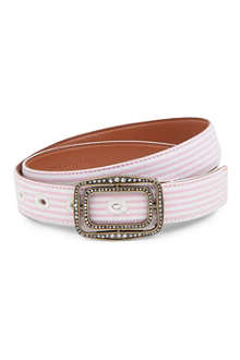 RALPH LAUREN Striped belt