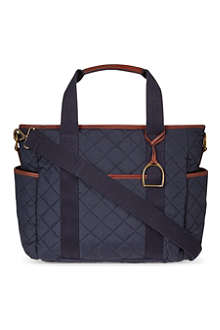 RALPH LAUREN Quilted baby changing bag