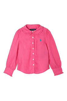 RALPH LAUREN Pink classic shirt 2-7 years