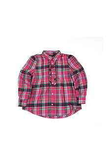 RALPH LAUREN Plaid tunic top 2-7 years