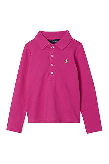 RALPH LAUREN Long sleeved polo shirt 5-7 years