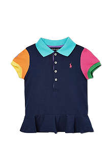 RALPH LAUREN Block polo shirt 2-7 years