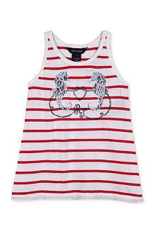 RALPH LAUREN Embellished tank top 4-7 years