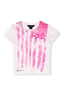 RALPH LAUREN Flag print cotton t-shirt 4-7 years
