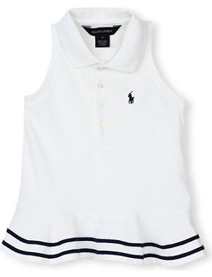 RALPH LAUREN Peplum-waist polo shirt 2-7 years