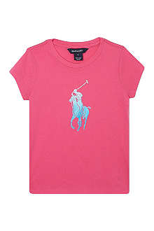 RALPH LAUREN Big Pony t-shirt 2-7 years