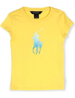 RALPH LAUREN Big Pony t-shirt 2-7 years