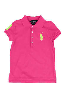 RALPH LAUREN Neon polo shirt 5-7 years