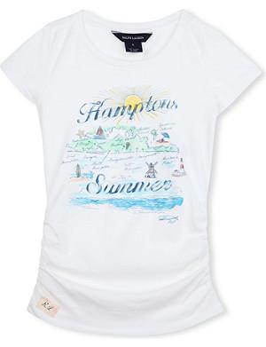 RALPH LAUREN Hampton souvenir t-shirt 2-7 years