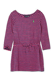 RALPH LAUREN Striped long sleeved t-shirt dress 2-7 years