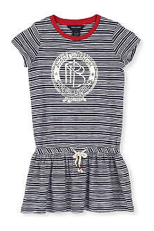 RALPH LAUREN Striped cotton t-shirt dress 5-7 years