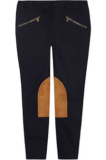 RALPH LAUREN Skinny stretch-cotton jodhpurs 2-7 years
