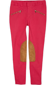 RALPH LAUREN Skinny stretch-cotton jodhpurs