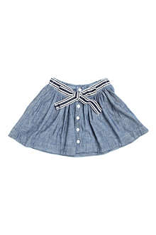 RALPH LAUREN Chambray button-front skirt 2-7 years
