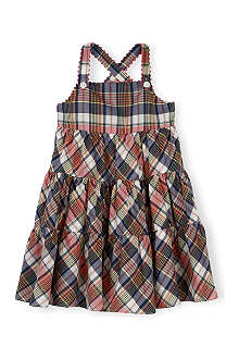 RALPH LAUREN Check print cotton dress 2-7 years