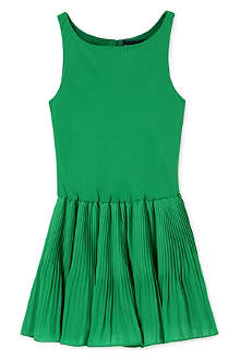 RALPH LAUREN Pleated skirt dress 5-7 years