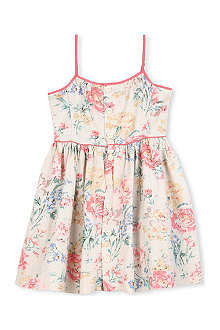 RALPH LAUREN Printed linen-blend dress 2-7 years