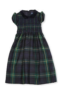 RALPH LAUREN Tartan party dress 2-7 years