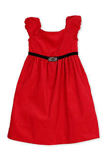 RALPH LAUREN Short sleeve party dress 2-7 years