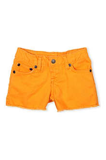 RALPH LAUREN Cut-off denim shorts 5-7 years