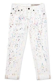 RALPH LAUREN Paint splash boyfriend jeans 2-7 years