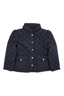 RALPH LAUREN Shawl collar quilted jacket 2-7 years