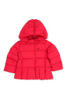 RALPH LAUREN Hooded down coat 2-7 years