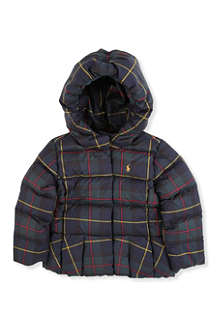 RALPH LAUREN Peplum down jacket 2-7 years