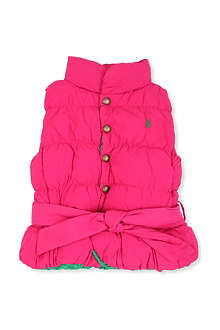 RALPH LAUREN Little reversible down vest 2-7 years