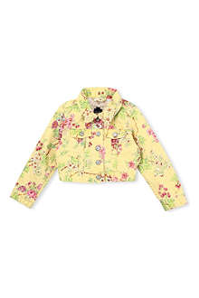 RALPH LAUREN Floral print stretch-denim jacket 2-7 years