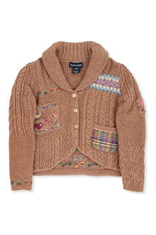 RALPH LAUREN Patchwork cardigan 2-7 years