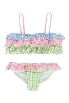 RALPH LAUREN Seersucker bikini 5-7 years