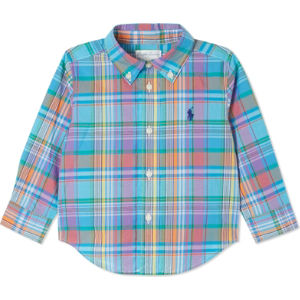 Checked cotton shirt 6-24 months