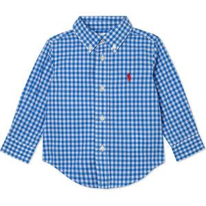 Gingham check cotton shirt 6-24 months