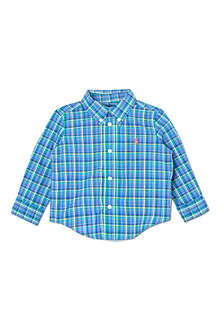 RALPH LAUREN Checked blake shirt 9-18 months