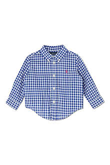 RALPH LAUREN Blake checked shirt 9-18 months