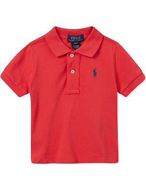RALPH LAUREN Classic cotton polo shirt 9-24 months