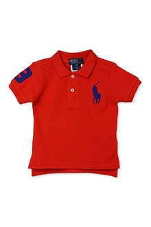 RALPH LAUREN Big Pony polo shirt 9-18 months