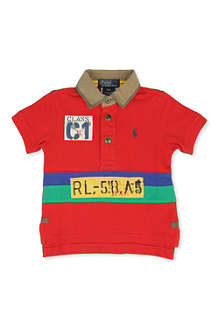 RALPH LAUREN Rafting polo shirt 9-24 months